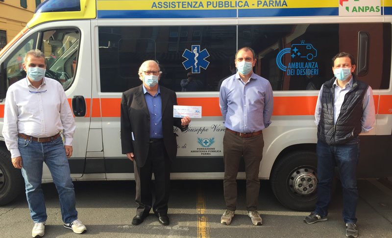 MULTISERVICE DONA 10.000 EURO ALL'ASSISTENZA PUBBLICA